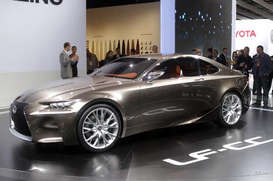 雷克萨斯 LF-CC 概念车 实拍 其它 图片