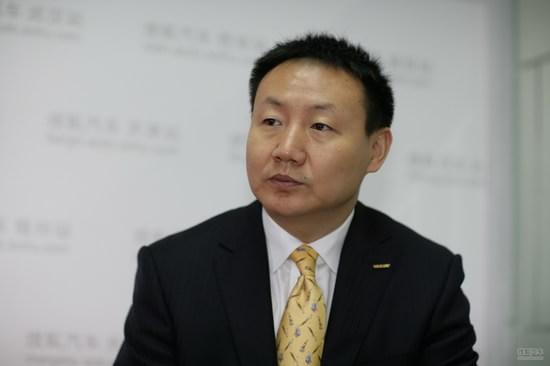刘金良 吉利控股集团副总裁兼销售公司总经理