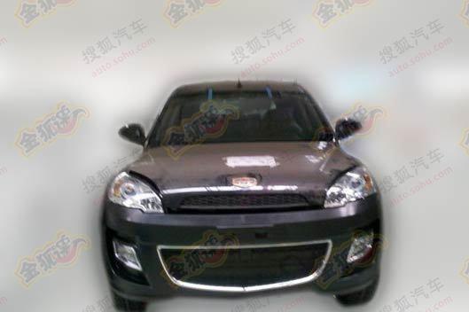 吉利大型SUV帝豪EX8曝光 搭载6AT变速器高清图片