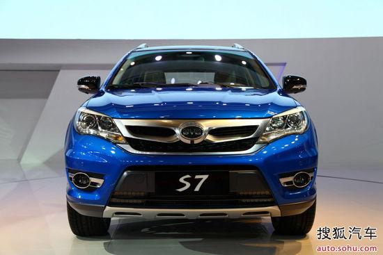 比亚迪S7上海车展实拍