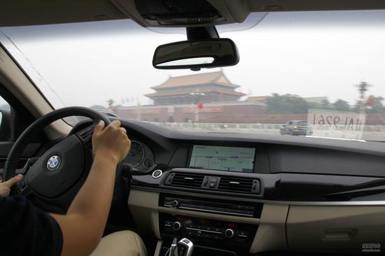 宝马 5系旅行车 实拍 评测 图片