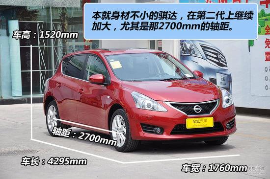 """日产骐达2012款_""""怡情小改""""Nismo新骐达1.6T与原厂对比-搜狐汽车"""