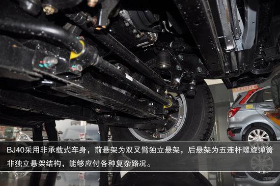 北京汽车 北京吉普bj40高清图片