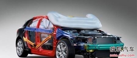 笼式车身结构及行人保护安全气囊
