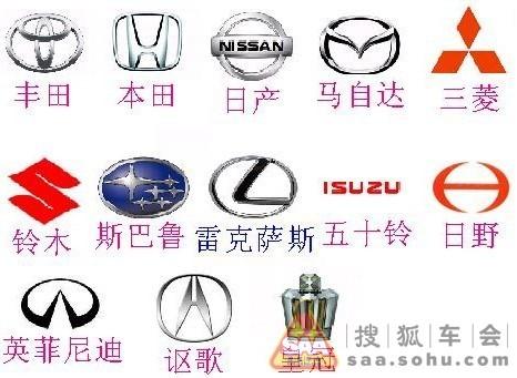 常见的日本车,13个牌子,大家来看一下 - 马自达
