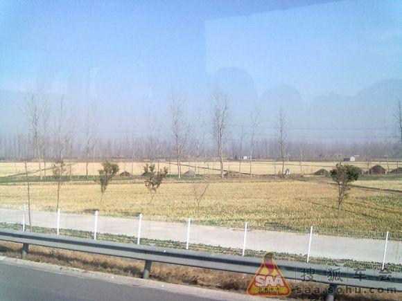 冬季高速公路风景 _上海车友会_汽车论坛 _搜狐车友会