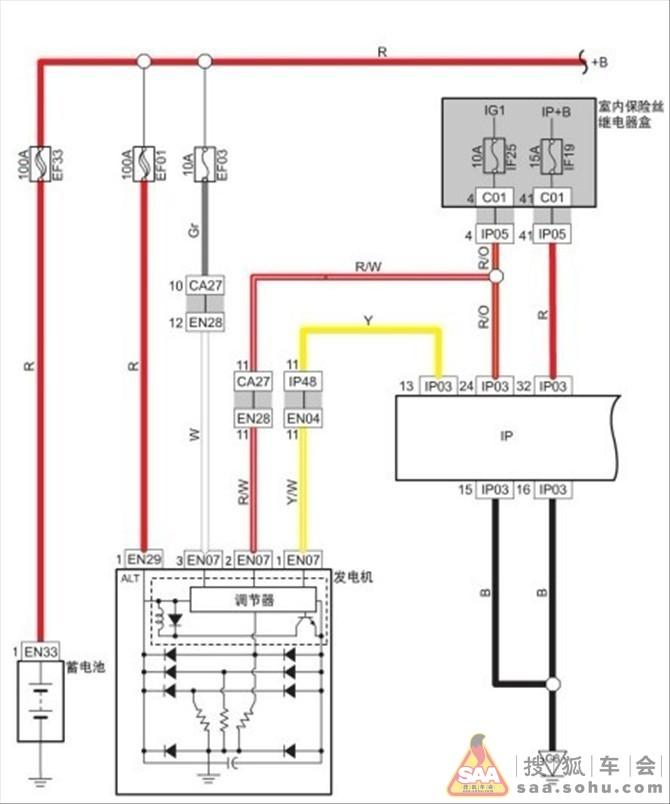 09款帝豪ec7原厂电路图(一)---非常精辟哦_吉利-游吉