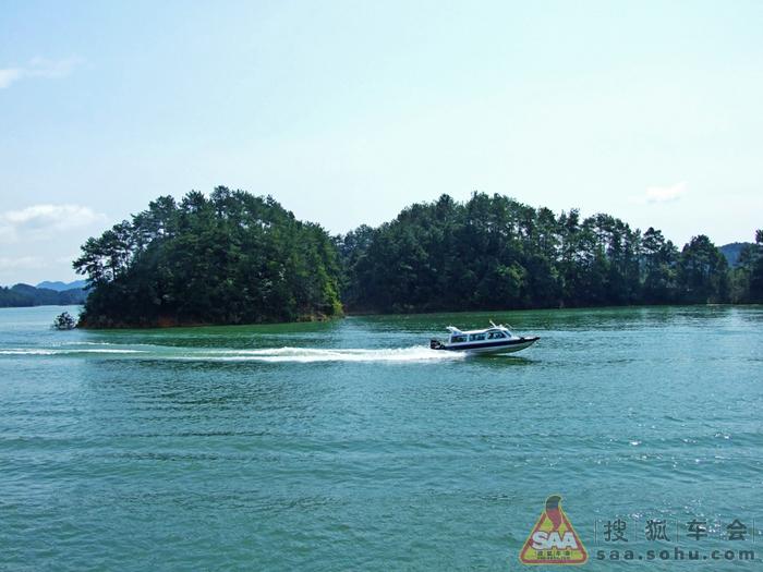 位于千岛湖中心湖区西端的状元半岛上
