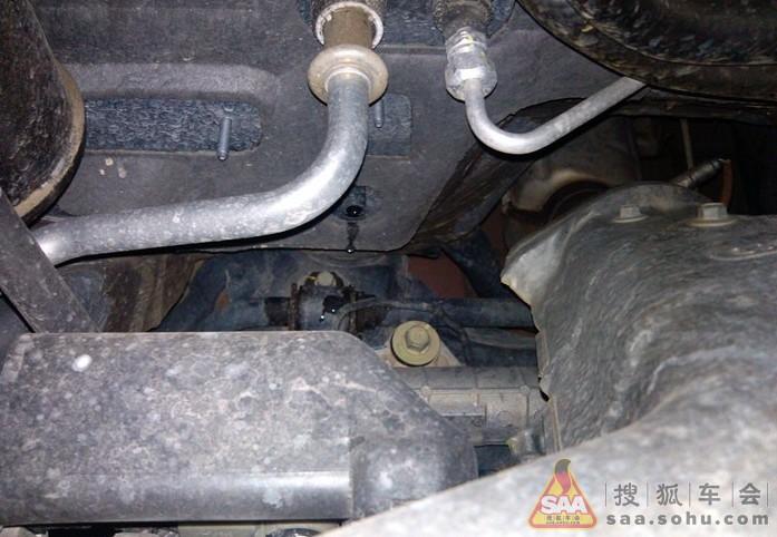 马自达6空调排水管的缺陷,及应对策略