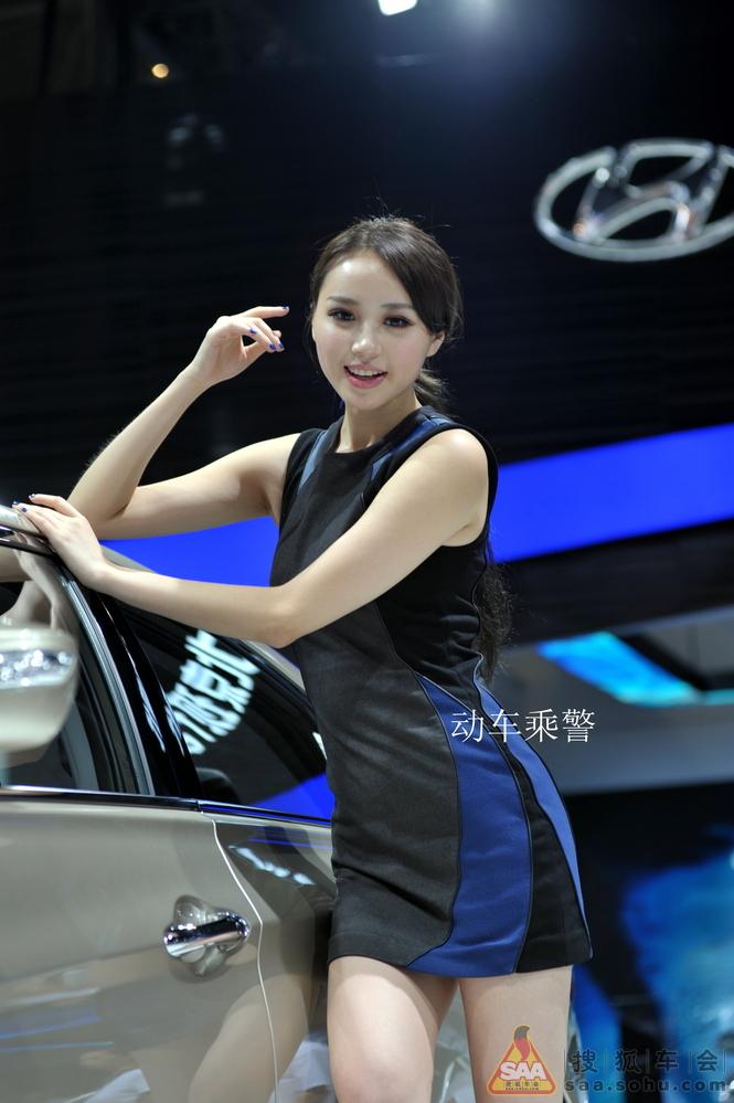 2013年成都车展美女汽车图片第二波 石家庄车