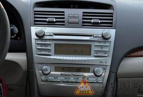 丰田凯美瑞原车cd改装卡仕达dvd导航拆装方法