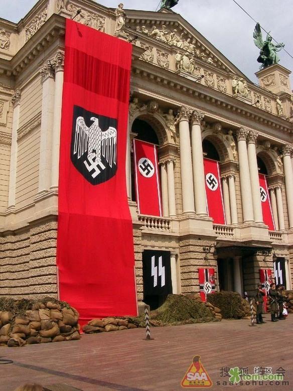 纳粹万字旗高清壁纸