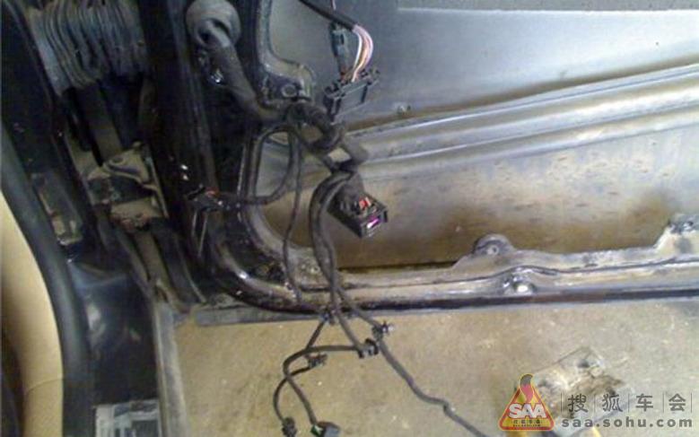 维修 为我的老帕更换玻璃升降器_帕萨特-帕盟_搜狐