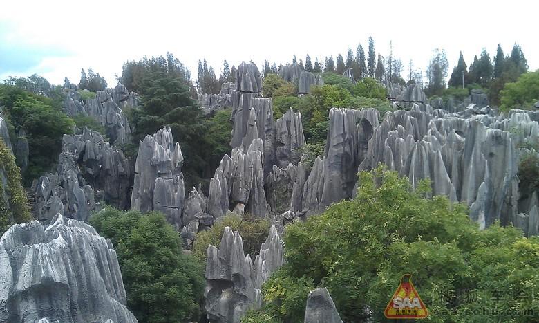 云南自由行之石林 乃古石林