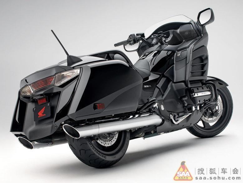 秀车 2013款 Honda 金翼 F6R 旅行摩托车