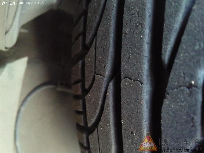 这样算不算质量问题原车佳通轮胎横截面开裂 有新发现